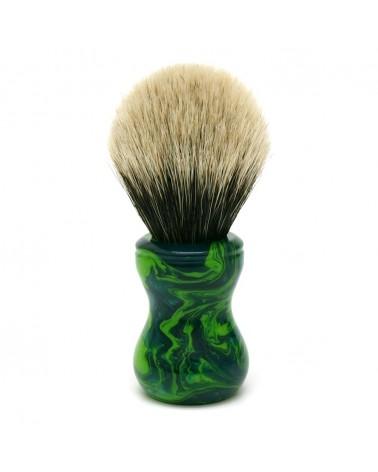 TJ2 Silvertip 2-Band Badger Shaving Brush