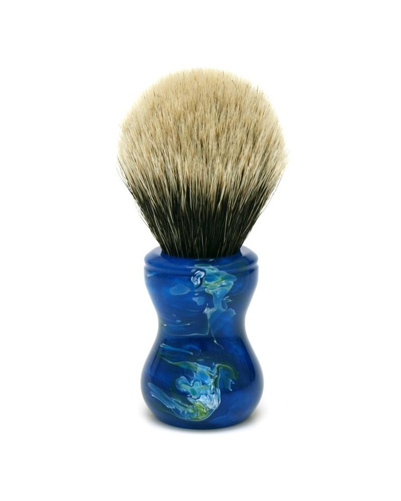 TO2 Silvertip 2-Band Badger Shaving Brush