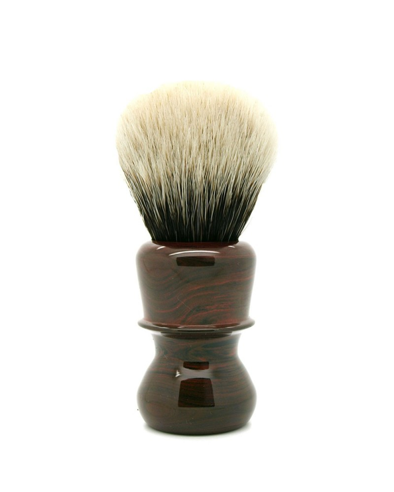 EC1 Silvertip 2-Band Badger Cumberland Ebonit Shaving Brush