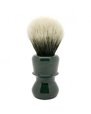 EB1 Silvertip 2-Band Badger Demin Blue Ebonit Shaving Brush
